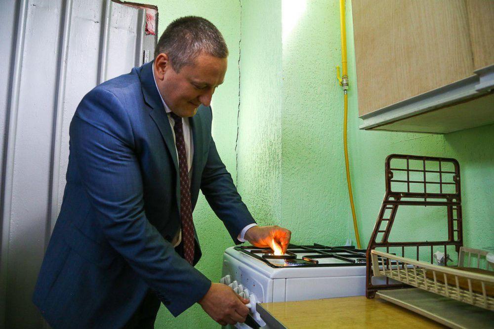 В белогорском Сары-Су появился газ