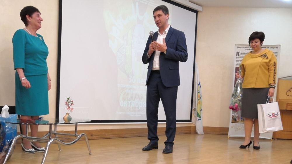 Ленур Абдураманов принял участие в праздновании 30-летия создания со дня создания Крымского общества крымчаков «Кърымчахлар»