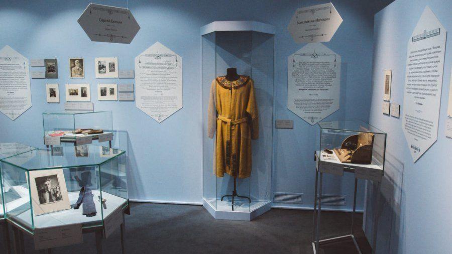 Предметы из коллекций Дома-музея М.А. Волошина и Крымского литературно-художественного музея-заповедника представлены на межмузейной выставке в Москве