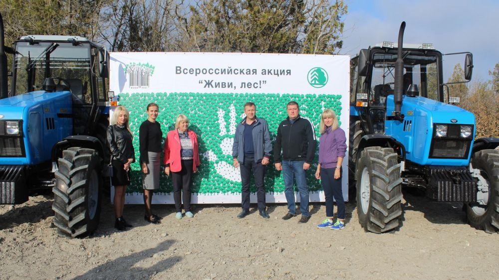 В Белогорском районе состоялась акция «Сохраним лес»