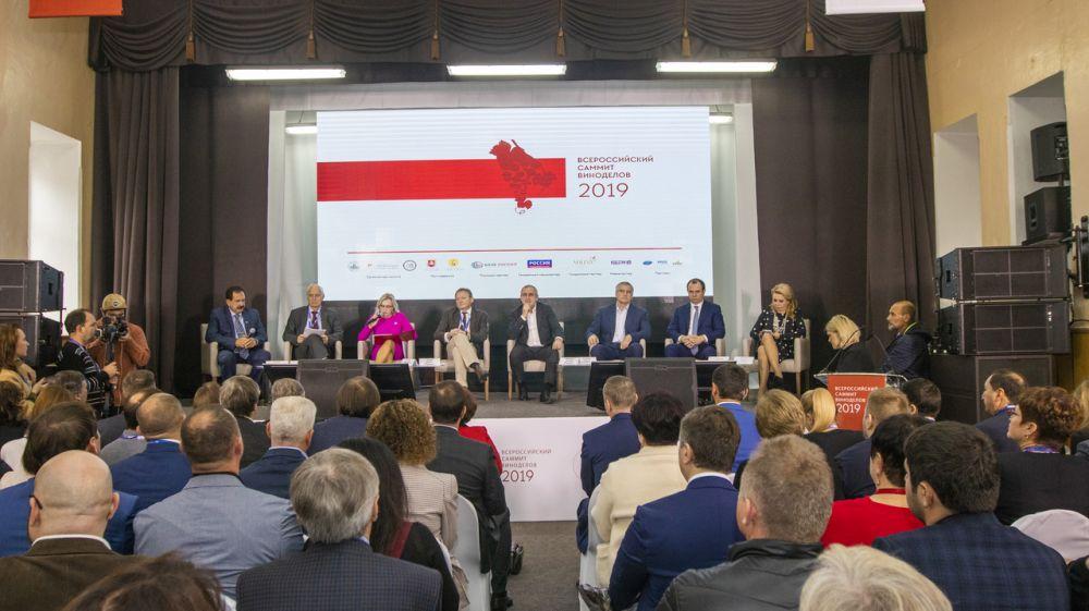 Андрей Рюмшин: Поступления в бюджет от винодельческих предприятий Крыма за последние пять лет возросли втрое