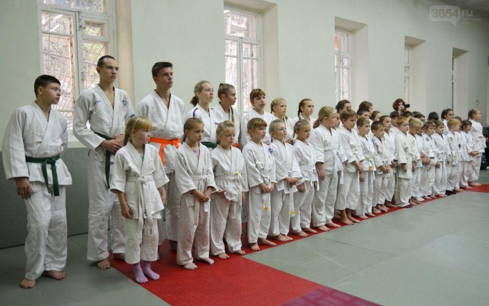 Федерации дзюдо Ялты отметила день любимого вида спорта