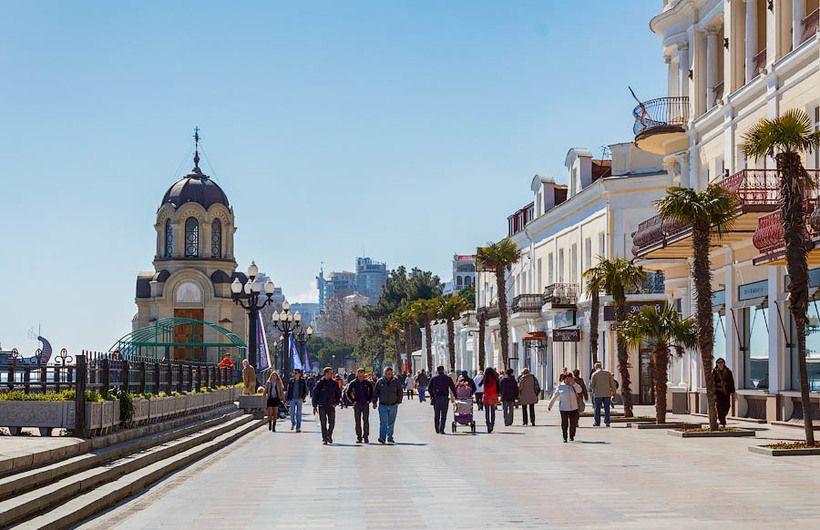 Крым – лидер популярных направлений в России на новогодние каникулы