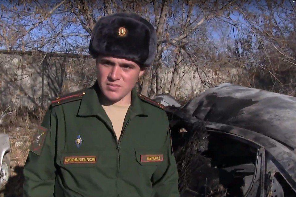 Контрактник из Крыма вытащил из горящей машины 11-летнего мальчика
