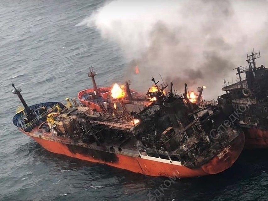 В Крыму ищут пропавших моряков из Турции и Индии