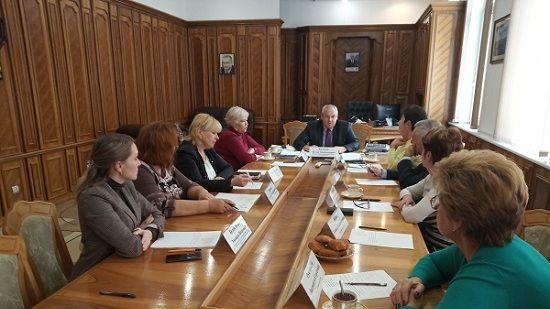 В Крымфиннадзоре состоялось плановое заседание Общественного совета