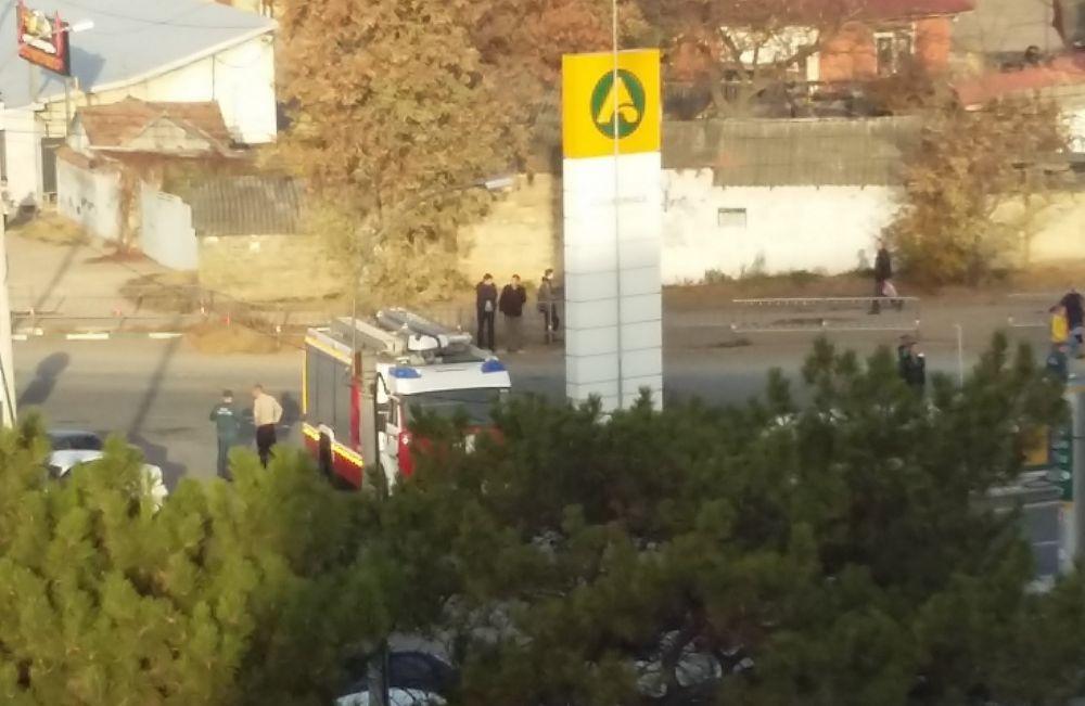 В Симферополе на территории АЗС произошла утечка газа