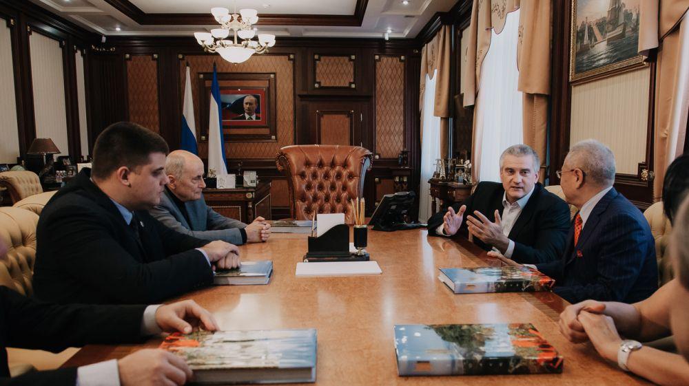 Сергей Аксёнов поблагодарил членов Международной ассоциации «Друзья Крыма» за поддержку российского Крыма на международной арене