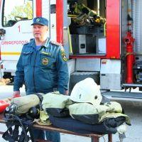 О профессии спасателя в рамках учебно-методического сбора