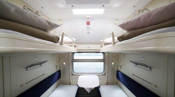 Опубликованы первые фотографии интерьера нового поезда «Таврия»
