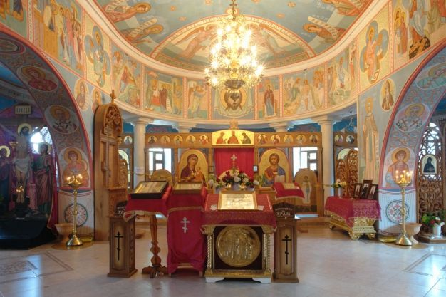 Храму в честь иконы Божией Матери Топловского монастыря исполнилось 120 лет