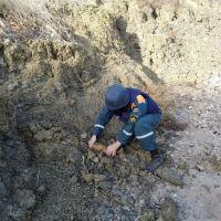 Сотрудники ГУ МЧС России по Республике Крым уничтожили авиабомбы