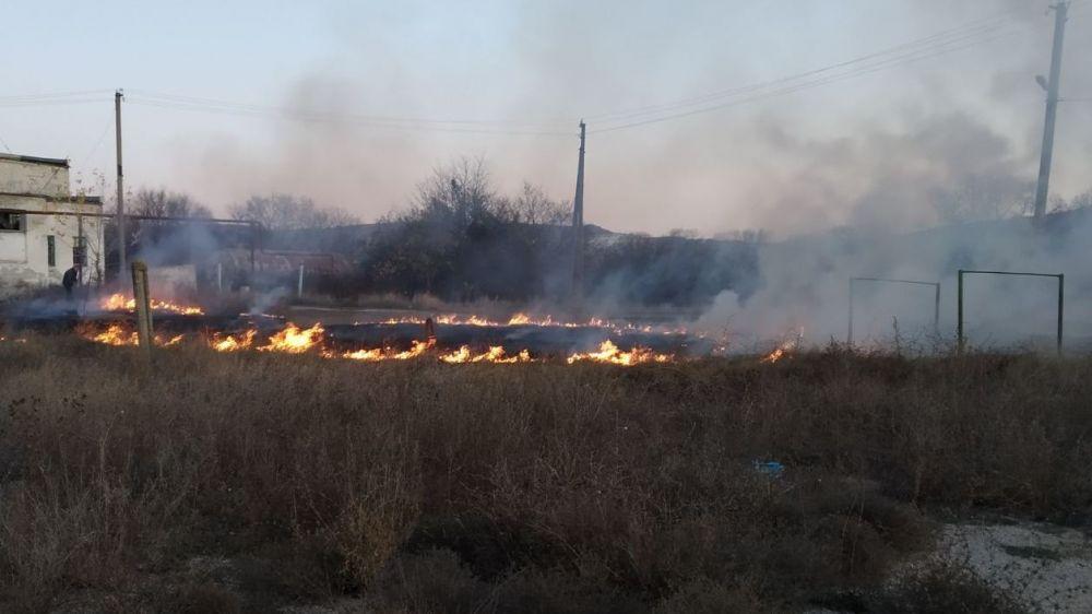 МЧС Республики Крым напоминает: детская шалость с огнем опасна!