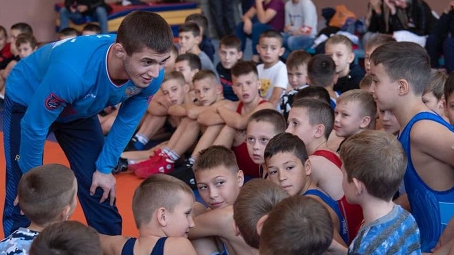 Эмин Сефершаев провел мастер-класс в Красногвардейском