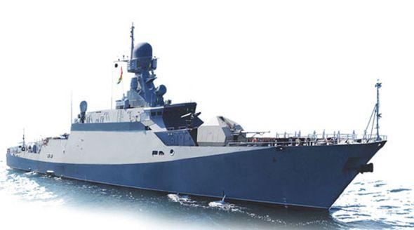 Новейший корабль «Ингушетия» провел испытания ракетного комплекса «Калибр» в Черном море