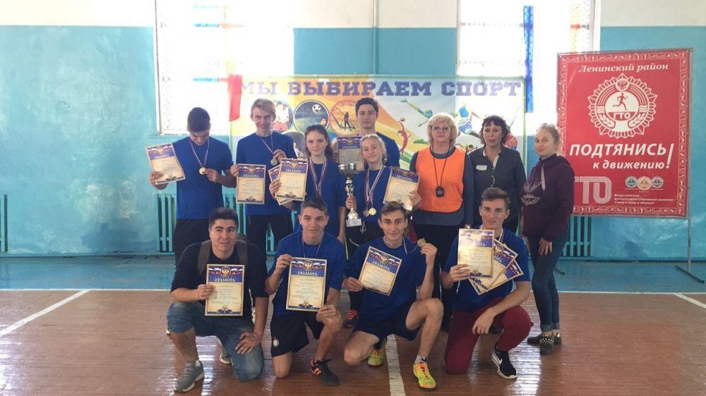 В Ленинском районе прошел военно-патриотический конкурс допризывной молодежи «Призывник»