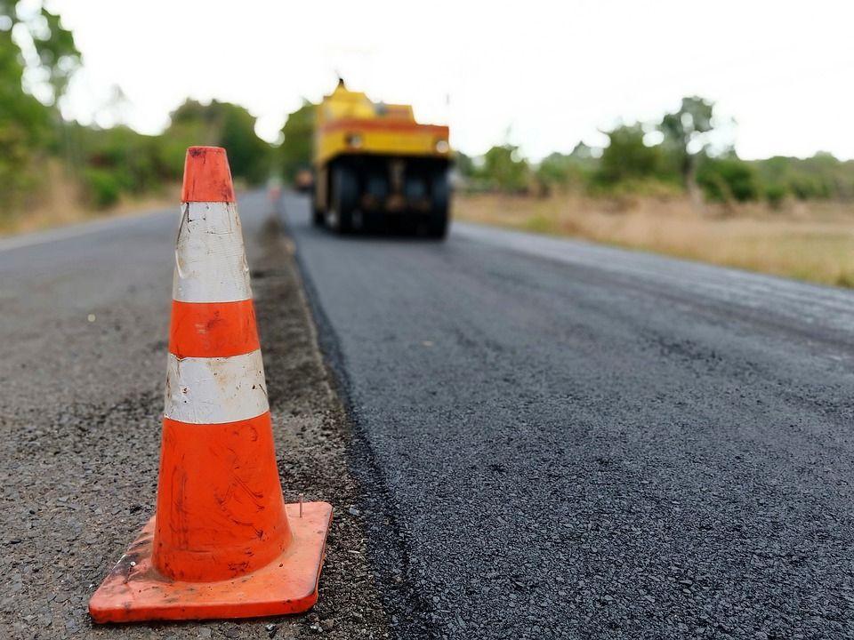 За месяц в Крыму отремонтировали 155 тысяч квадратных метров дорог