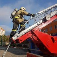 Отработка нормативов по пожарно-строевой и тактико-специальной подготовке