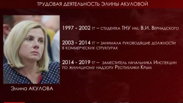 Аксёнов назначил Акулову главным жилищным инспектором Крыма