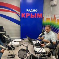 Об итогах пожароопасного периода в эфире «Радио Крым»