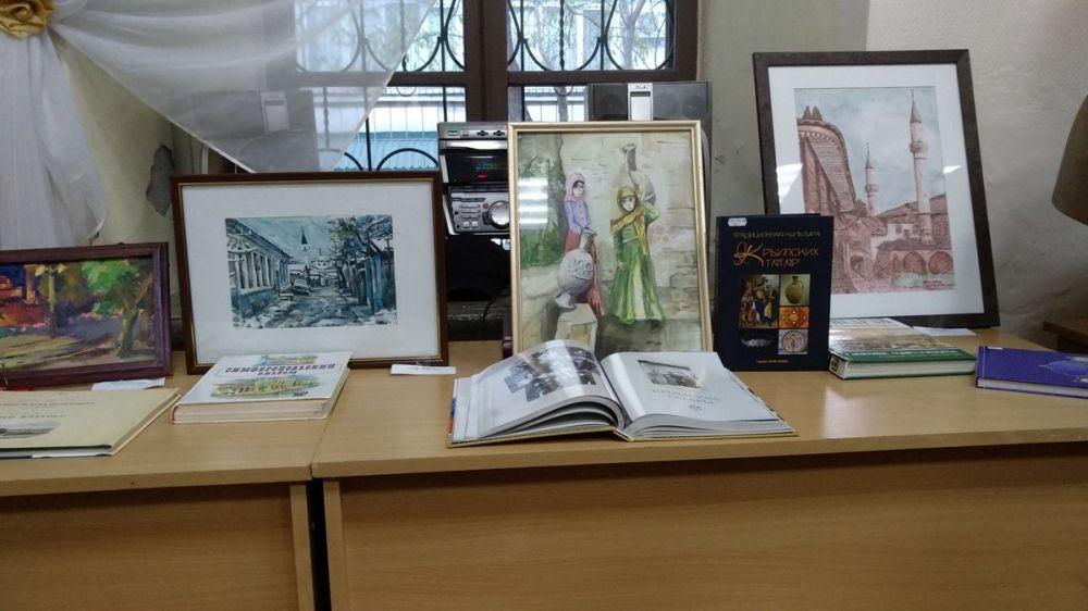 Библиотека им. И. Гаспринского провела День крымскотатарской письменности и культуры