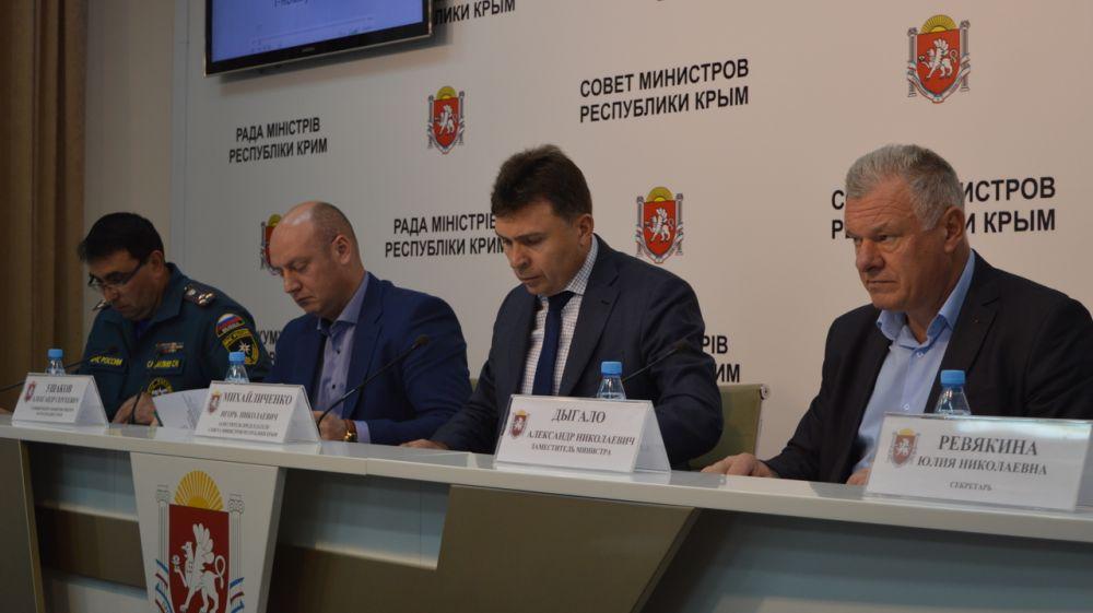 КЧС: Подведены итоги прохождения летнего пожароопасного периода на территории Республики Крым в 2019 году