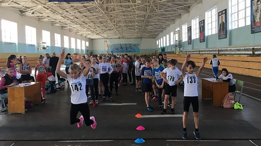 На соревнованиях по легкоатлетическому троеборью в Симферополе обновлены пять рекордов