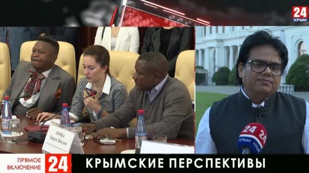 Делегация иностранных журналистов продолжает знакомство с Крымом