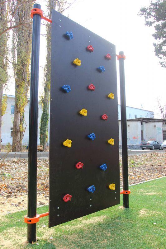 Новая тренажёрная площадка открылась в Гагаринском парке Симферополя