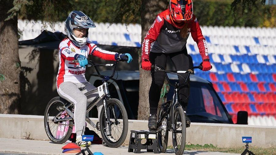 Сборная России по велоспорту ВМХ Race проводит предолимпийскую подготовку в Крыму