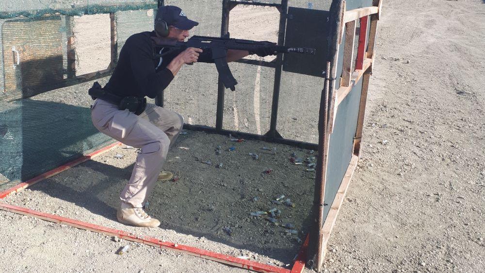 Соревнования по практической стрельбе из ружья и карабина 9*19 состоялись в селе Перевальное