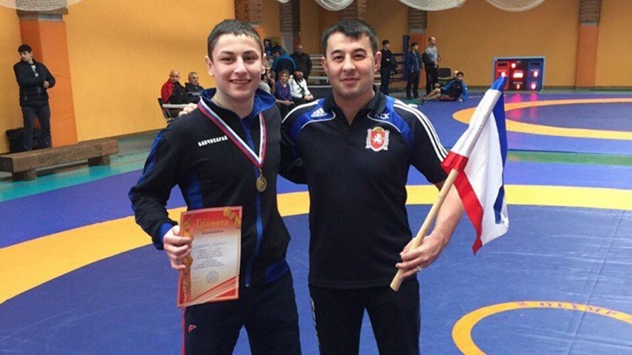 Бахчисарайскому борцу-классику Ридвану Османову присвоено звание мастера спорта России