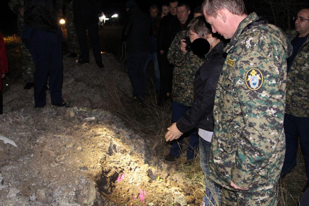В Крыму отчим взял с собой двухлетнего сына, чтобы закопать тело убитой падчерицы