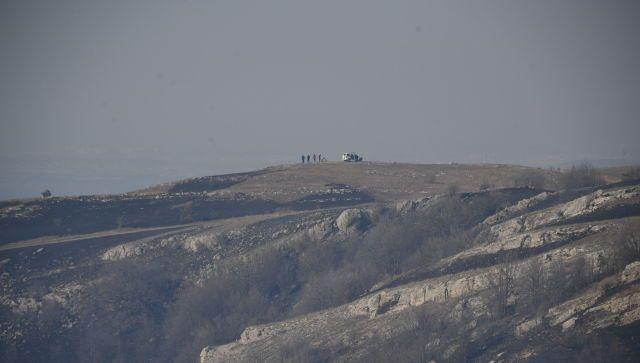 Крупный лесной пожар в Крыму потушен