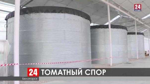 Жители Белогорска против строительства тепличного комплекса