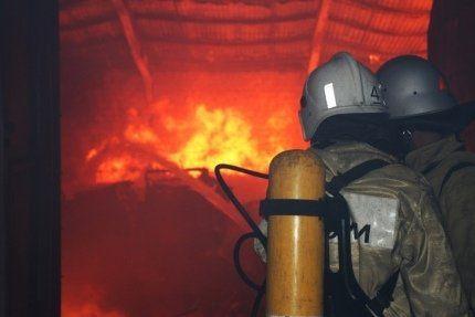 В Симферополе произошел пожар в общежитии: спасали взрослых и детей