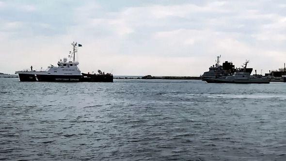 Передача украинских кораблей в Черном море состоится 18 ноября