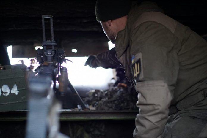 Украина заявила об атаке Россией позиций ВСУ с воздуха