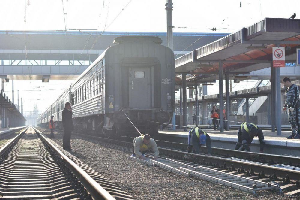 Пассажиров первого поезда Москва – Симферополь ожидает особенное шоу