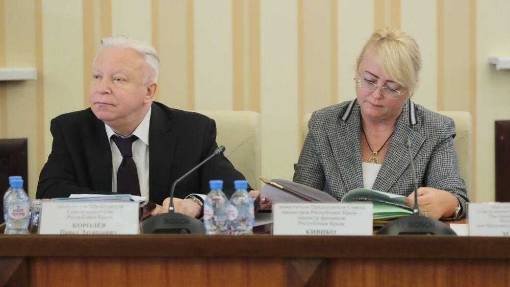 Совет министров одобрил отчёт об исполнении бюджета Крыма за 9 месяцев 2019 года – Ирина Кивико