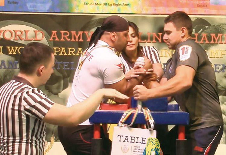 Крымчане успешно выступили на чемпионате мира по армрестлингу