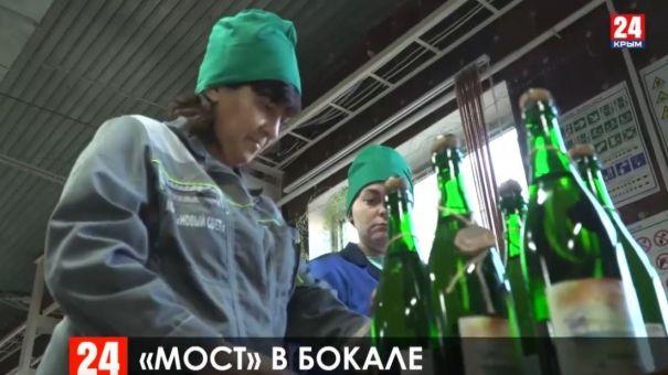 """К Новому году в продажу поступи коллекционное вино """"Крымский мост"""""""