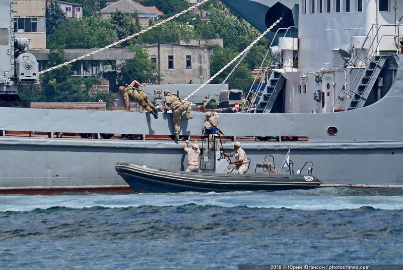 Новое подразделение морской военной полиции проведет противодиверсионные учения в Севастополе
