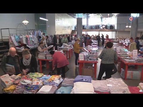 В Севастополе проходит выставка-ярмарка «Ивановский текстиль»