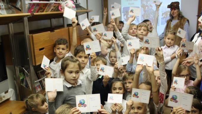 При поддержке Министерства культуры Крыма регулярно проходят выездные мероприятия для детей с использованием ресурсов Библиобуса