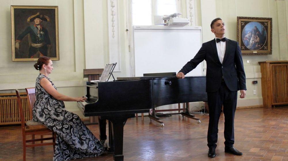 Концерт камерно-вокальной музыки представлен в Симферопольском художественном музее