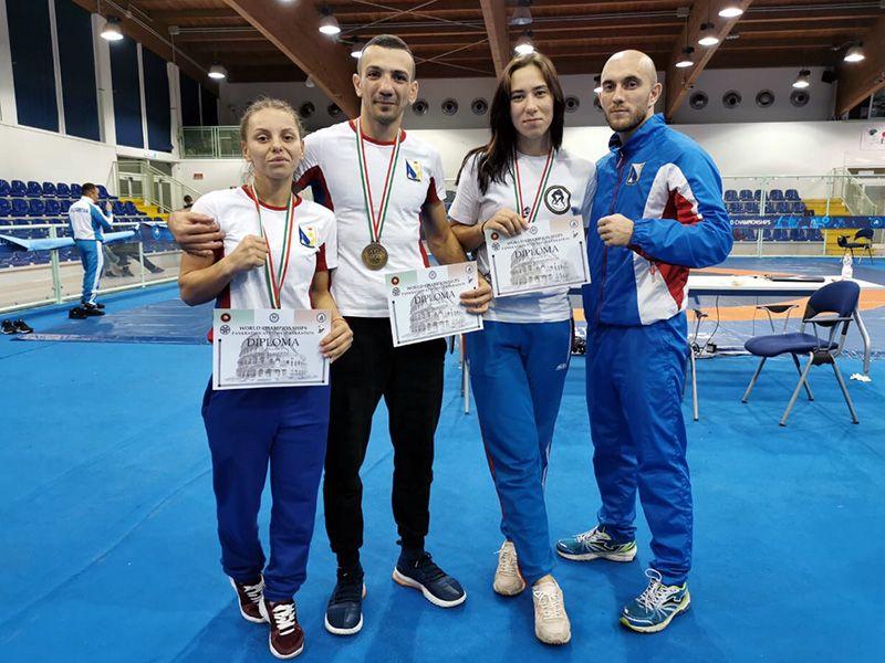 Севастопольцы завоевали три медали на ЧМ-2019 по панкратиону