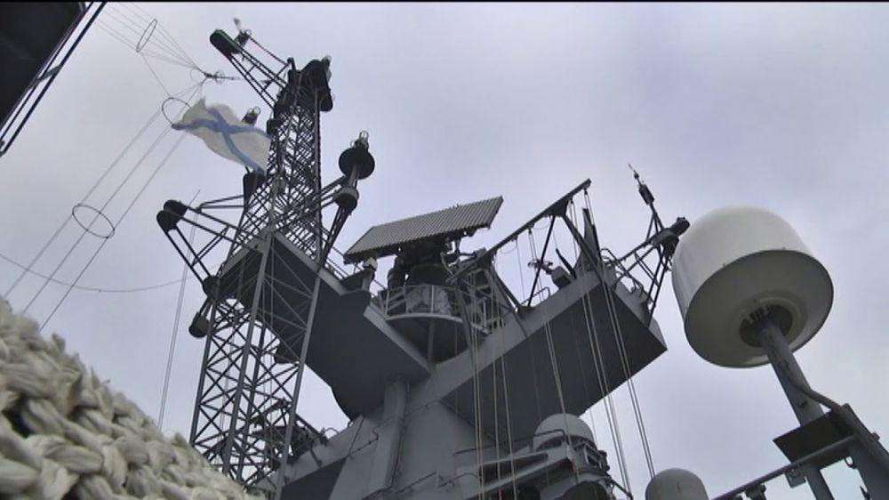 Фрегат ЧФ отразил воздушную атаку в Черном море