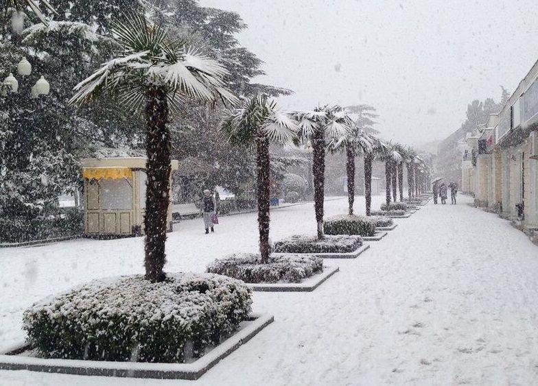 Зима близко: какая будет зима в Крыму в 2019?