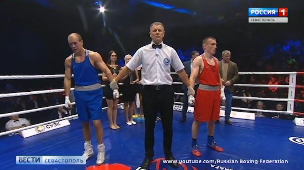 Севастополец стал трёхкратным чемпионом России по боксу